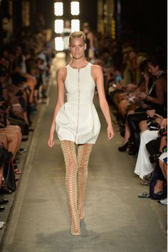 Alex Perry #SS2013 #MBFWA | Gorgeous dress with the Thigh-Hi Sandal!