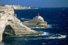 Bonifacio, phare de la Madonetta