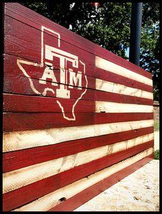 Sports Flags, Wooden Flag, Flag Art, Board Ideas, My Etsy Shop, University, Texas, Rustic, Handmade Gifts