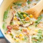 Permalink to: Mushroom, Corn and Bacon Chowder