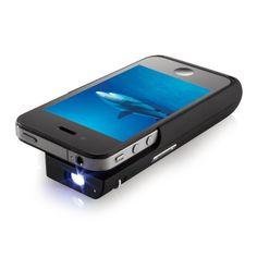 Genialt produkt - projektoren som får plass i lomma - passer til IPhone 4/4s