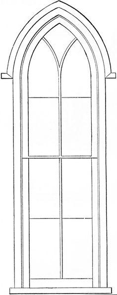 http://thegraphicsfairy.com/gothic-church-windows-clip-art/