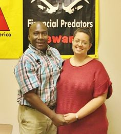 """The Pettys: """"we are very happy with our new home! We learned a lot about the home buying process. We cannot wait to start our new life in our new home!"""" And with a 0.75% interest rate, they are paying HALF what they did in rent! #KansasCity #AmericanDream #NACAPurchase 1.071% APR"""