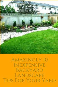 Best Cheap Backyard Landscape Ideas That You\u0027ll Love & 800 best Cheap Backyard Landscaping images on Pinterest in 2018