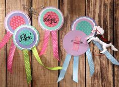 Reitorden, Pferdemädchen, DIY, Basteln mit Kindern, Kindergeburtstag, produziert für  tambini.de
