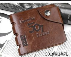 HIGH Mens Genuine Leather Bifold Wallet Credit/ID Card Holder Slim Coin Purse | Clothing, Shoes & Accessories, Men's Accessories, Wallets | eBay!