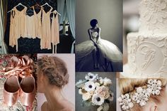Ballet wedding inspiration-- graceful, glamourous, romantic!