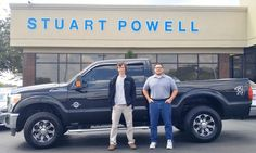 Congratulations to Alex McCoy, new owner of this Ford F-250 diesel!  We're glad you were able to get away from Hurricane Irma, and wish you the very best as you finish up welding school in Florida.  Your new truck will be great to haul your welding machine, and more!  Thank you so much for your business! - Antonio Baca, Sales Consultant