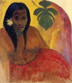 Tahitian Woman - Paul Gauguin