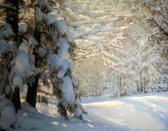 Fine Art Landscape Oil Paintings by Michael Godfrey Painting Snow, Winter Painting, Seascape Paintings, Oil Paintings, Landscape Artwork, Winter Landscape, Winter Scenes, Beautiful Paintings, Art World
