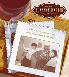 [Shannon Martin Designs] - Collection of gifts and greeting cards made from dusty shoeboxes of old family photos.