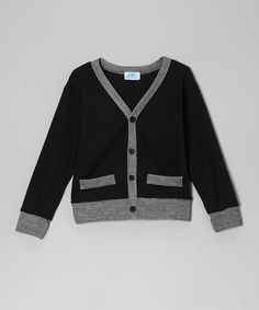 Black Cardigan - Infant, Toddler & Boys | Daily deals for moms, babies and kids