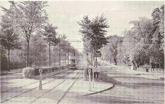 Bristol Road, Birmingham, UK - dual carriageway with tram reservation, c1946 | Flickr - Photo Sharing!