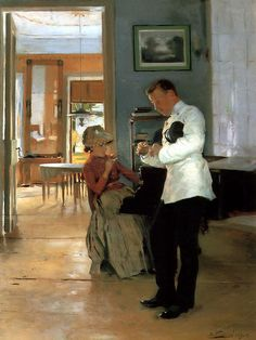 Vladimir Makovsky - The Explanation, 1891