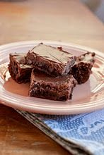 Fudge Brownies with Chocolate Frosting