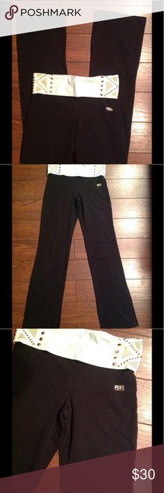 Victoria Secret Yogas S! Good condition regular length no trades!! PINK Victoria's Secret Pants Boot Cut & Flare
