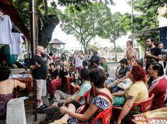 O evento, que tem participação Catraca Livre, ainda traz o bloco Loucura Suburbana e o projeto Reggae na Kombi