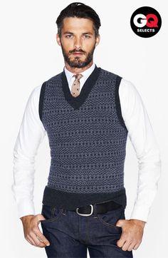 Sweater vest & tie combo