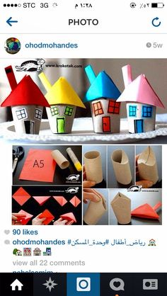 plenty of toilet paper roll crafts for kids Kids Crafts, Projects For Kids, Diy For Kids, Diy And Crafts, Craft Projects, Arts And Crafts, Craft Ideas, Rolled Paper Art, Toilet Paper Roll Crafts