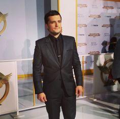 Josh Hutcherson - 'The Hunger Games: Mockingjay Part 1' film premiere in Los Angeles, California - November 17th, 2014