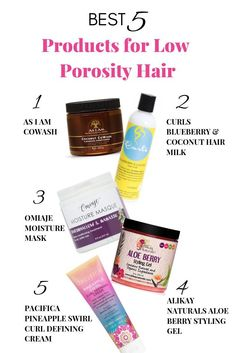 5 Amazing CGM Products for Low Porosity Hair Discover which products your low porosity curls need! From cowash, conditioner, moisture mask, styling gel, and defining cream. Best Natural Hair Products, Natural Hair Regimen, Natural Hair Tips, Natural Hair Styles, 4c Hair Products, Beauty Products, Beauty Tips, Hair Beauty, Low Porosity Hair Products