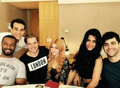 Rehearsal time... #shadowhunters I love this cast!!