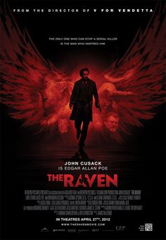 """""""The Raven"""" (2012) -One of my favorite movies ever. Whoever wrote it must love Poe as much as I do. :)"""