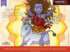 Kaalaratri represents the deepest rest so that you can attain dynamism