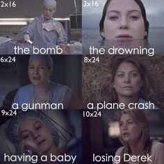 Grey's anatomy. Things that could have killed mer