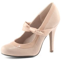 Nude Knot Court Shoes from Dorothy Perkins