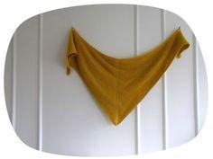Sunshine shawl !