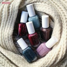 Essie luxurious winter colors