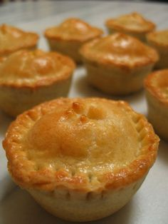 Mini Pot Pies are still perfect for any stand up reception.
