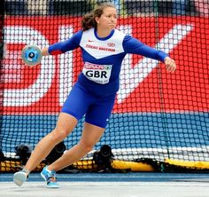 Jade Lally - Athletics. Discus.