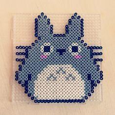 Totoro perler beads by annasthlm