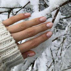 They allow to display a manicure impeccable during several weeks and to play with the form and the length of our nails. Nail Manicure, Manicures, Shellac Nails, Love Nails, Pretty Nails, Milky Nails, Ten Nails, Space Nails, Nagellack Design