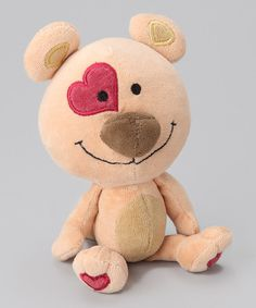 Organic Cotton Teddy Bear Plush Toy by Nova Nature on #zulily today!