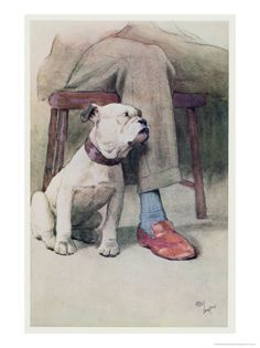 Bulldog by Cecil Aldin