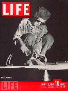 women welder, 1943.