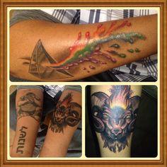 Aries Tattoo, Pink Floyd Tattoo, Cyclop Tattoo, Hebrew Tattoo, tattoos