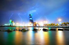 """""""Thunders"""" by Abdulhameed Shamandour, via 500px."""