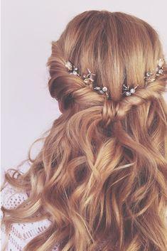 Flower crown & curls!