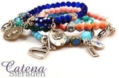 Summer Bracelets, Mix Match, Ibiza, Fashion Online, Fashion Beauty, Fashion Accessories, Beaded Bracelets, Charmed, Jewelry