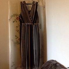 ADORABLE MAXI DRESS ADORABLE MULTICOLORED LONG STRIPE DRESS Dresses Maxi