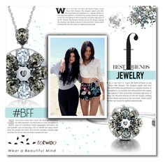 """""""Totwoo jewelry"""" by dolly-valkyrie ❤ liked on Polyvore featuring Topshop and totwoo"""