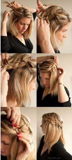 peinados con pelo suelto corto y largo