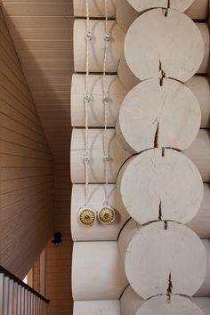 Великолепный деревянный дом в Подмосковье  