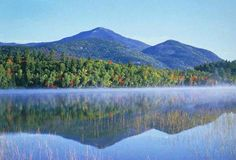 Blue Mountain Lake, Adirondacks, NY  my favorite Adirondack Lake. Doesn't seem possible that Steve and I canoed this lake 37 years ago!