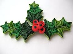 Quilled Holly