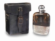"This flask was the award given to Harry Rembrandt ""Rem"" Fowler after he won the Twin Cylinder TT class of inaugural Isle of Man TT back in 1907."